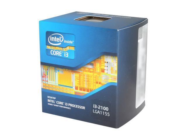 Intel Core i3-2100 3.1 GHz LGA 1155 BX80623I32100 Desktop Processor