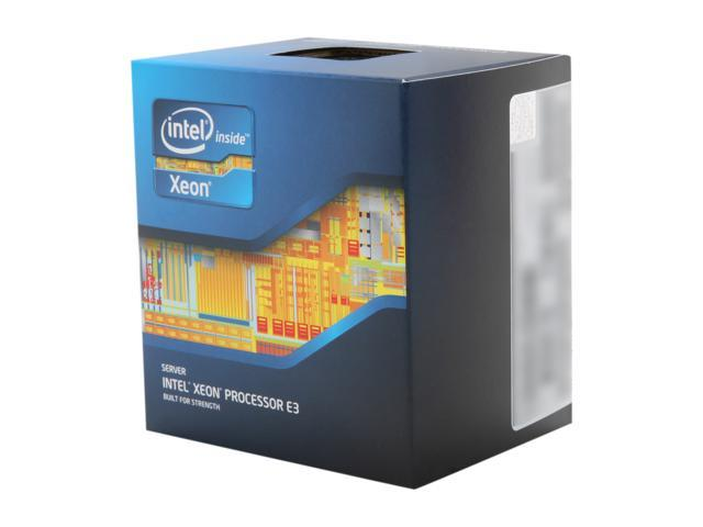 Intel Xeon E3-1270 3.4 GHz LGA 1155 80W BX80623E31270 Server Processor