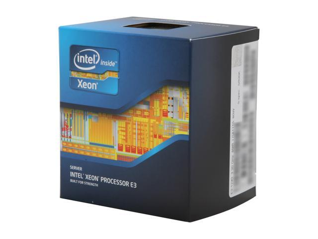 Intel Xeon E3-1240 Sandy Bridge 3.3 GHz LGA 1155 80W BX80623E31240 Server Processor