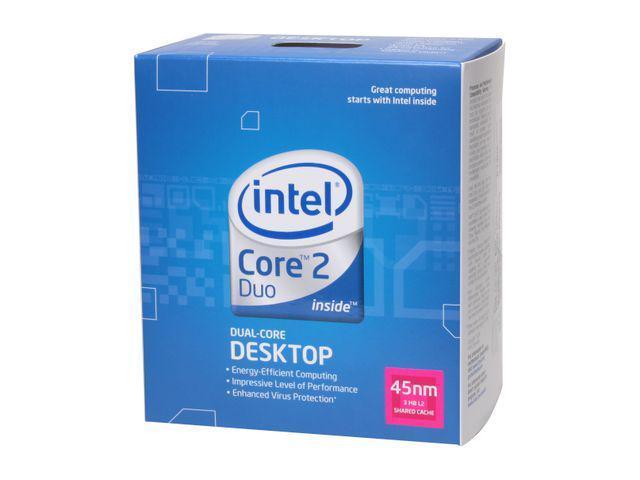 Intel Core 2 Duo E7400 2.8 GHz LGA 775 BX80571E7400 Desktop Processor