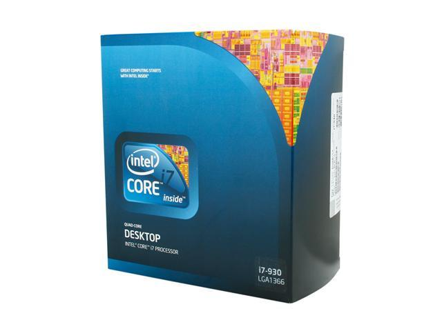 Intel Core i7-930 Bloomfield Quad-Core 2.8 GHz LGA 1366 130W BX80601930 Desktop Processor