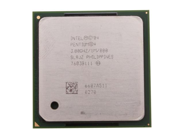 Intel Pentium 4 530 3.0 GHz Socket 478 NE80546PG0801M Desktop Processor - OEM