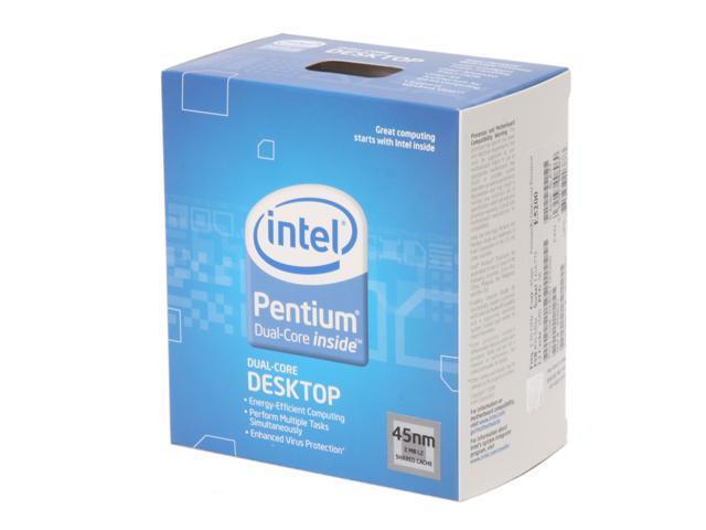 Intel Pentium E5300 Wolfdale Dual-Core 2.6 GHz LGA 775 65W BX80571E5300 Desktop Processor