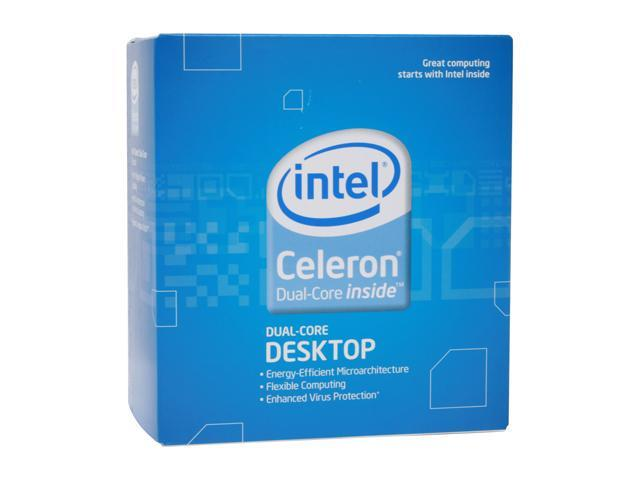 Intel Celeron E1600 Dual-Core 2.4 GHz LGA 775 65W BX80557E1600 Processor