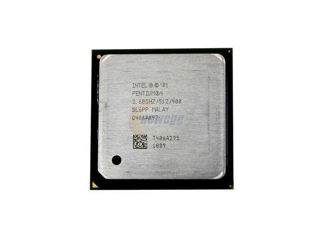 Intel Pentium 4 2.6 Northwood 2.6 GHz Socket 478 RK80532PC064512 ...