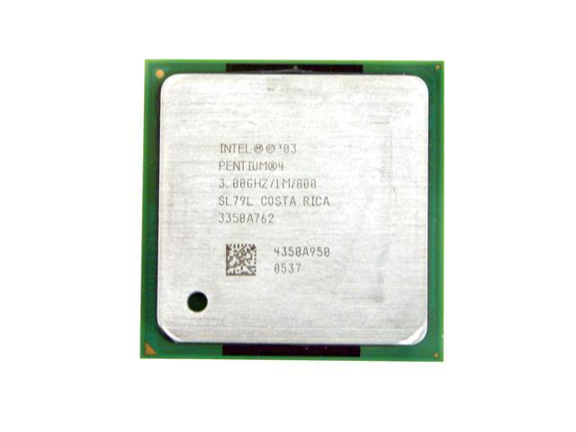 Intel Pentium 4 3.0E Prescott Single-Core 3.0 GHz Socket 478 RK80546PG0801M Processor