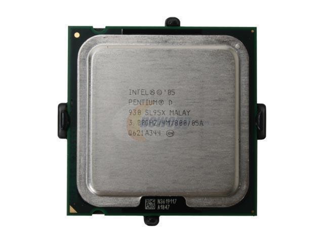 Intel Pentium D 930 Presler Dual-Core 3.0 GHz LGA 775 95W HH80553PG0804M Processor