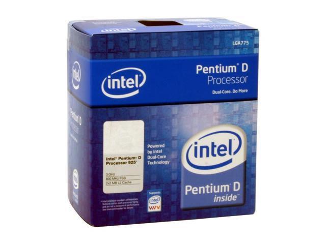 Intel Pentium D 925 Presler Dual-Core 3.0 GHz LGA 775 95W BX80553925 Processor
