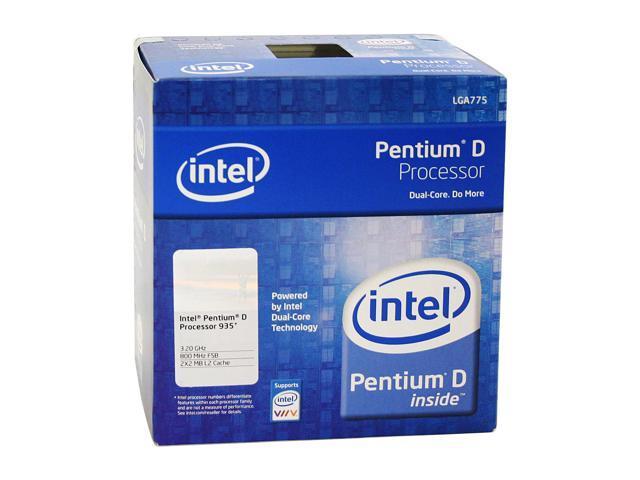 Intel Pentium D 935 Presler Dual-Core 3.2 GHz LGA 775 95W BX80553935 Processor