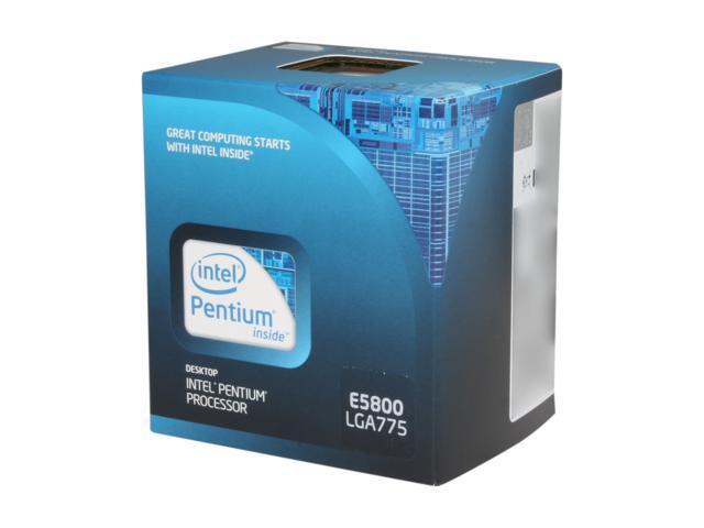 Intel Pentium E5800 3.2 GHz LGA 775 BX80571E5800 Desktop Processor