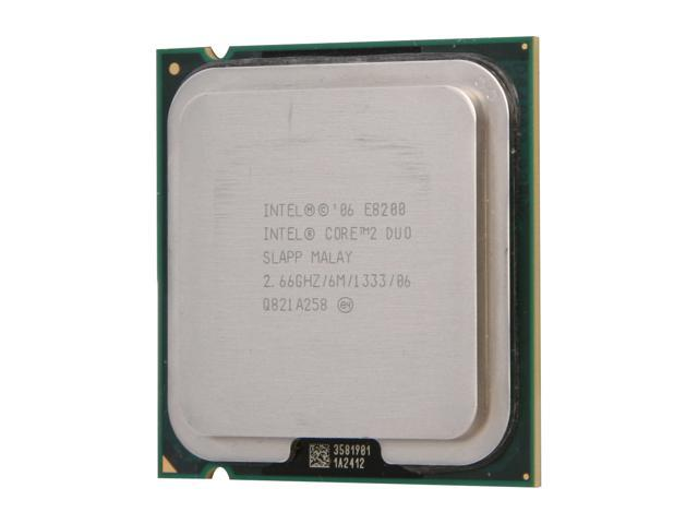 Intel Core 2 Duo E8200 Wolfdale Dual-Core 2.66 GHz LGA 775 65W E8200-R Desktop Processor