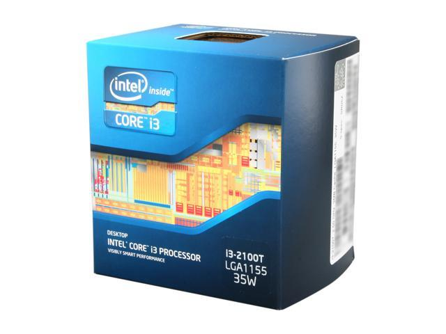 Intel Core i3-2100T 2.5 GHz LGA 1155 BX80623I32100T Desktop Processor