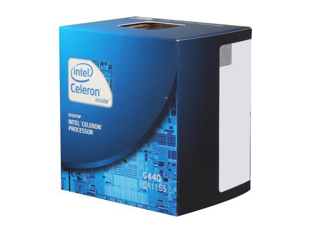 Intel Celeron G440 1.6 GHz LGA 1155 BX80623G440 Desktop Processor
