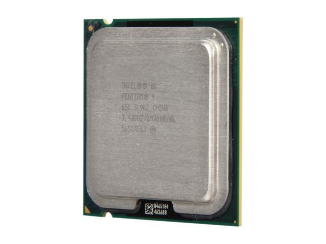Intel Pentium 4 651 Cedar Mill Single-Core 3.4 GHz LGA 775 65W P4651-R Desktop Processor