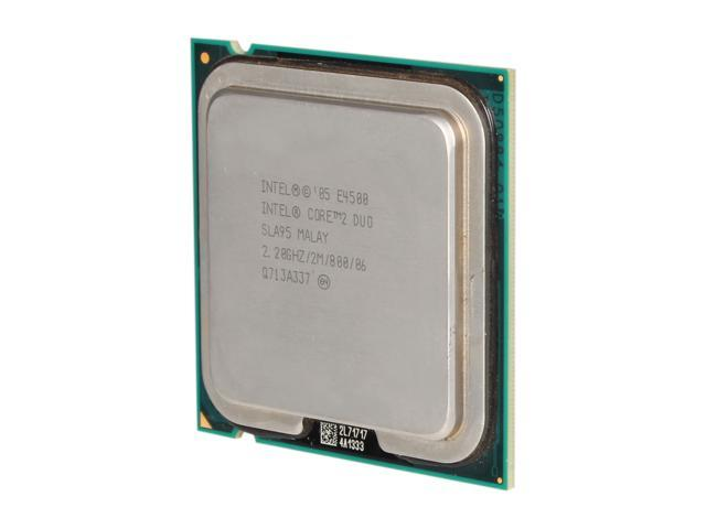 Intel Core 2 Duo E4500 Allendale Dual-Core 2.2 GHz LGA 775 65W E4500 (SLA95) Desktop Processor