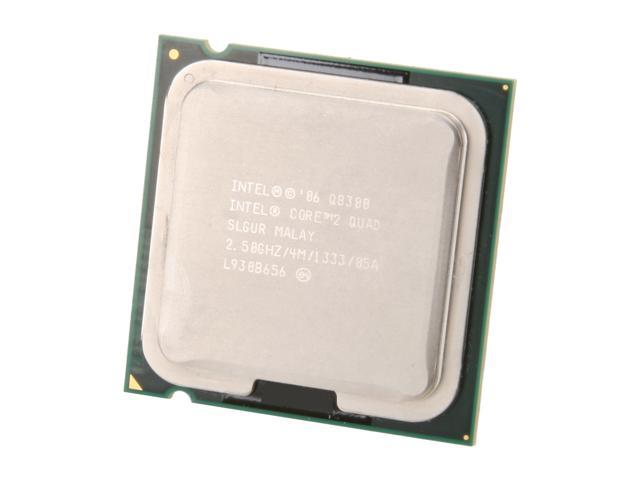 Intel Core 2 Quad Q8300 Yorkfield Quad-Core 2.5 GHz LGA 775 95W Q8300 (SLGUR) Desktop Processor