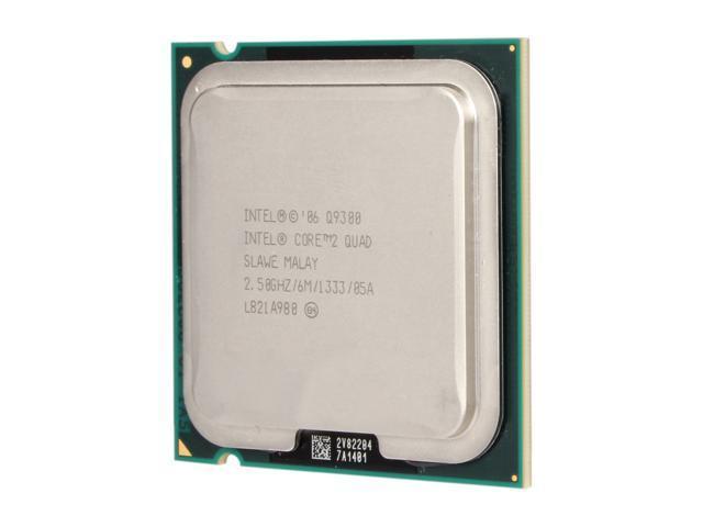 Intel Core 2 Quad Q9300 2.5 GHz LGA 775 Q9300 (SLAWE) Desktop Processor