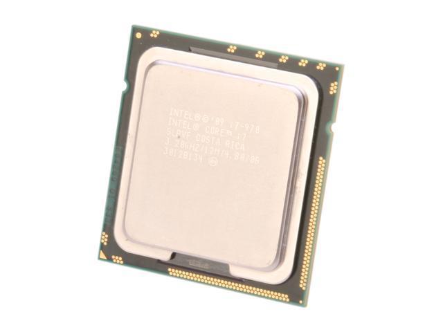 Intel Core i7-970 Gulftown 6-Core 3.2 GHz LGA 1366 130W I7 970 (SLBVF) Desktop Processor