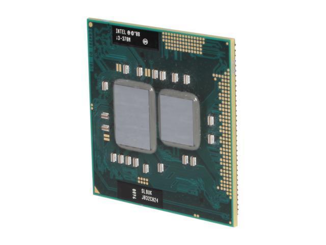 Intel Core i3-370M Arrandale 2.4 GHz Socket G1 Dual-Core I3 370M (SLBUK) Mobile Processor