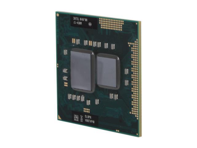 Intel Core i5-430M 2.26GHz (2.53GHz Turbo) Socket G1 35W 594533-001 Mobile Processor
