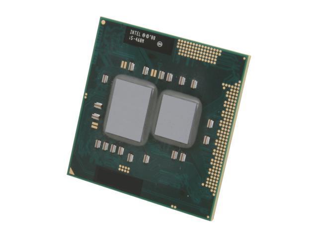 Intel Core i5-460M Arrandale 2.53GHz (2.8GHz Turbo) Socket G1 Dual-Core I5 460M (SLBZW) Mobile Processor