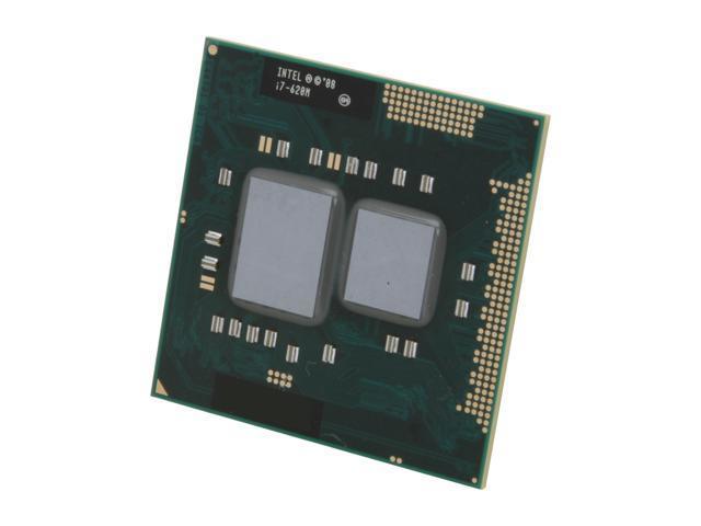 Intel Core i7-620M 2.66GHz (3.33GHz Turbo) Socket G1 35W I7 620M (SLBPD) Mobile Processor