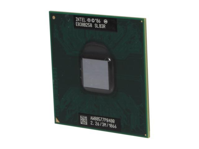 Intel Core 2 Duo P8400 2.26 GHz Socket P Dual-Core P8400 (SLB3R) Mobile Processor