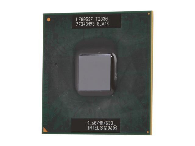 Intel Pentium Dual-Core T2330 Merom 1.6 GHz Socket P Dual-Core T2330 Mobile Processor