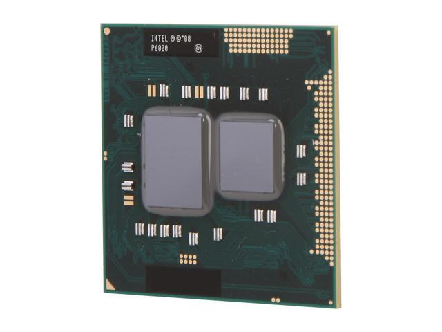 Intel Pentium P6000 Arrandale 1.86 GHz Socket G1 Dual-Core P6000 Mobile Processor