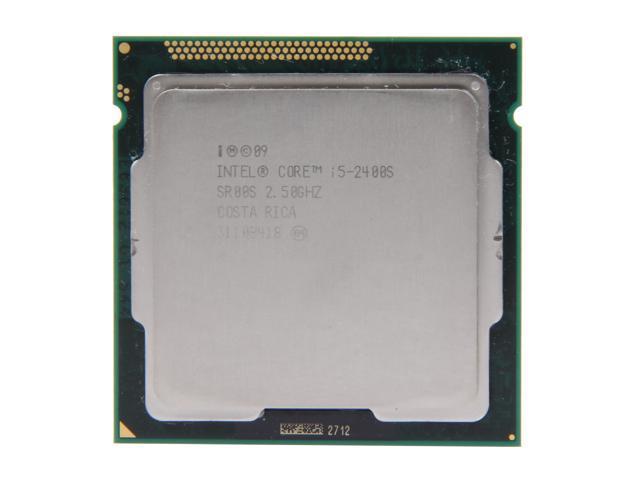 Intel Core i5-2400S Sandy Bridge Quad-Core 2.5GHz (3.3GHz Turbo Boost) LGA 1155 65W SR00S Desktop Processor Intel HD Graphics 2000