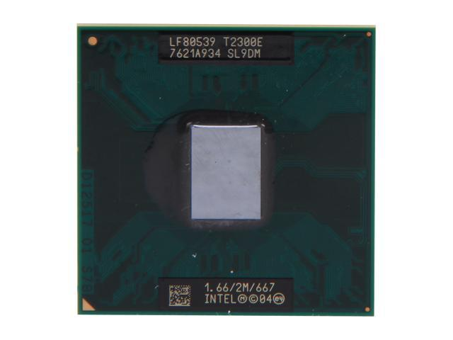 Intel Core Duo T2300E 1.66 GHz Socket 478 31W 418014-001 Mobile Processor