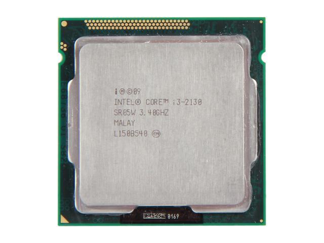 Intel Core i3-2130 Sandy Bridge Dual-Core 3.4 GHz LGA 1155 65W SR05W Desktop Processor Intel HD Graphics 2000