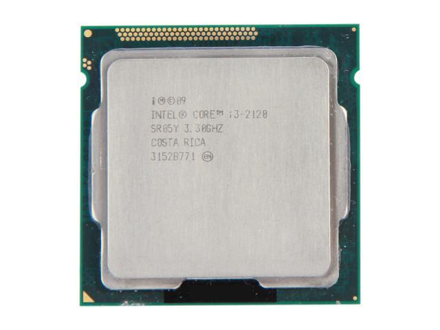 Intel Core i3-2120 Sandy Bridge Dual-Core 3.3 GHz LGA 1155 65W SR05Y Desktop Processor Intel HD Graphics 2000