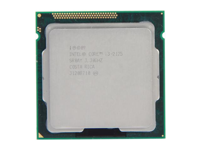 Intel Core i3-2125 3.3 GHz LGA 1155 SR0AY Desktop Processor