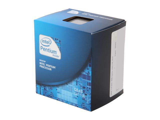 Intel Pentium G645 Sandy Bridge Dual-Core 2.9 GHz LGA 1155 BX80623G645 Desktop Processor