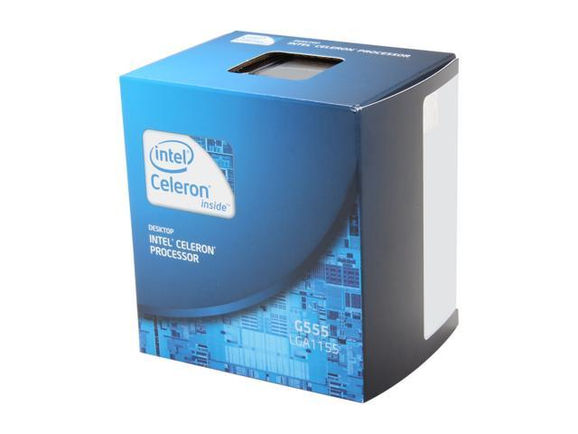Intel Celeron G555 Sandy Bridge Dual-Core 2.7 GHz LGA 1155 BX80623G555 Desktop Processor