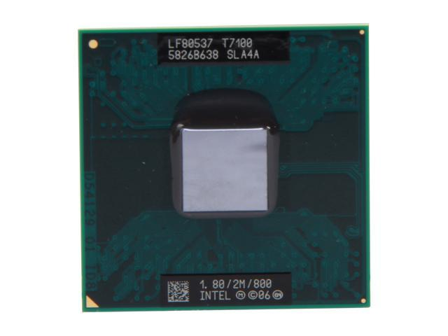 Intel Core 2 Duo T7100 Merom 1.8 GHz Socket P Dual-Core 438086-002 Mobile Processor