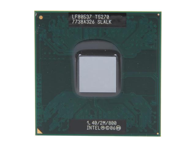 Intel Core 2 Duo T5270 Merom 1.40 GHz Socket P Dual-Core 438086-017 Mobile Processor