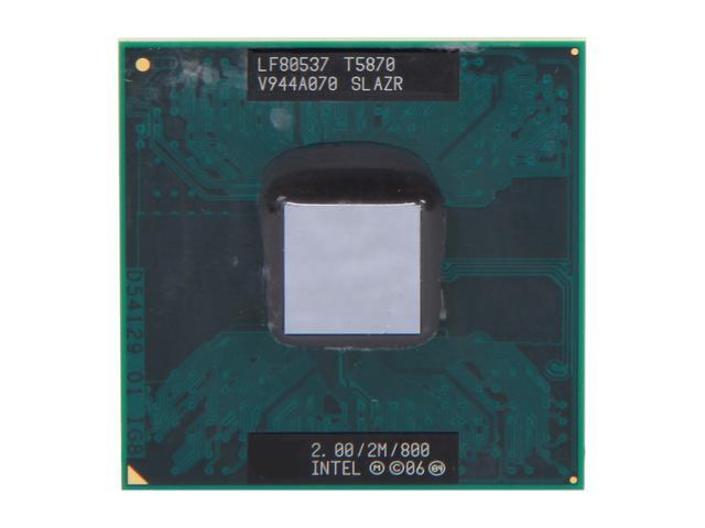 Intel Core 2 Duo T5870 Merom 2.0 GHz Socket P Dual-Core 438086-113 Mobile Processor