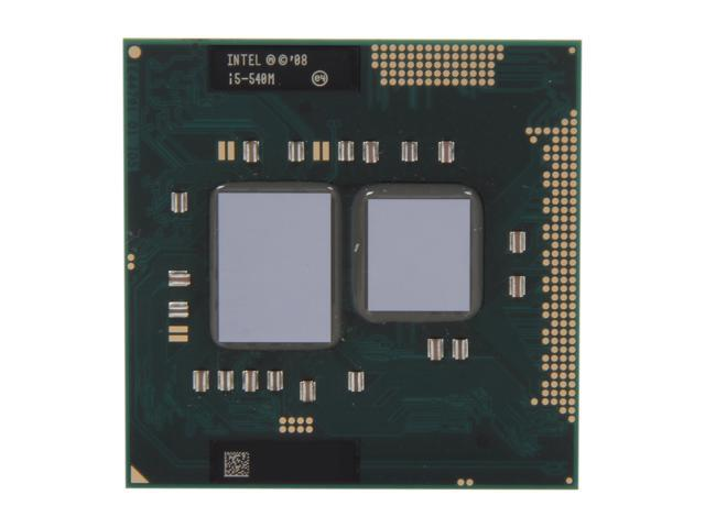 Intel Core i5-540M 2.53GHz (3.06GHz Turbo) Socket G1 35W 594188-001 Mobile Processor