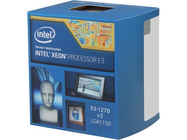 Intel Xeon E3-1270V3 Haswell 3.5 GHz LGA 1150 80W BX80646E31270V3 Server Processor