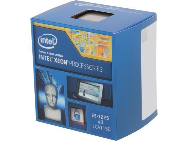 Intel Xeon E3-1225V3 Haswell 3.2 GHz LGA 1150 95W BX80646E31225V3 Server Processor