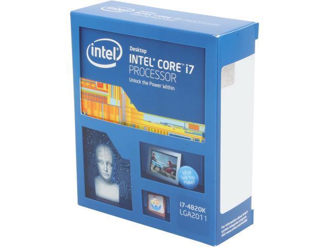 Intel Core i7-4820K 3.7GHz (Turbo 3.9GHz) LGA 2011 BX80633i74820K Desktop Processor