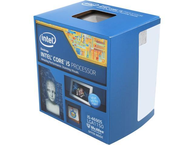 Intel Core i5-4690S Haswell Quad-Core 3.2 GHz LGA 1150 65W BX80646I54690S Desktop Processor Intel HD Graphics 4600