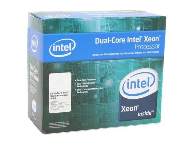 Intel Xeon 5060 3.2 GHz LGA 771 BX805555060P 2U Passive Processor