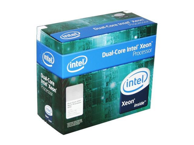Intel Xeon 5110 1.6 GHz LGA 771 65W BX805565110A Active or 1U Processor