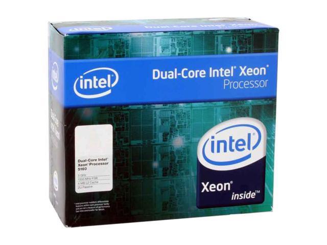 Intel Xeon 5160 3.0 GHz LGA 771 80W BX805565160P 2U Passive Processor