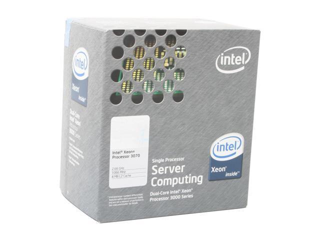Intel Xeon 3070 Conroe 2.66 GHz LGA 775 65W BX805573070 Processor