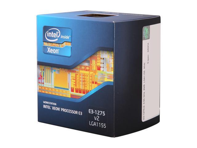Intel Xeon E3-1275 V2 3.5GHz (3.9GHz Turbo) LGA 1155 77W BX80637E31275V2 Server Processor