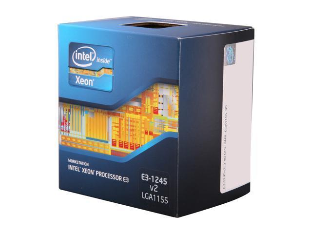 Intel Xeon E3-1245 V2 3.4GHz (3.8GHz Turbo) LGA 1155 77W BX80637E31245V2 Server Processor